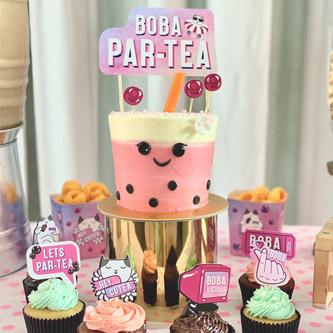 A Bubble Par-Tea for 5